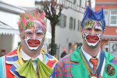 传统狂欢节在德国 免版税库存图片