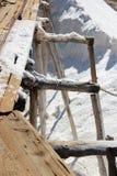 传统生产的盐 免版税图库摄影