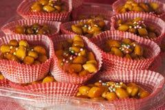 传统的甜点 免版税库存图片