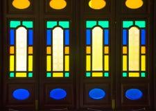 传统窗口框架在广州 免版税图库摄影