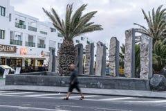 传统建筑和街道在特吉塞 库存照片