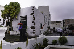 传统建筑在特吉塞 免版税库存图片