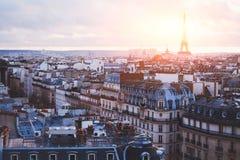传统建筑在巴黎 免版税库存照片