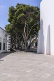 传统建筑在Haria 免版税库存照片