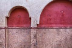 传统建筑学细节,摩洛哥 库存图片