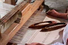 传统编织机 库存照片