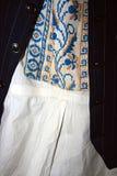 传统罗马尼亚民间服装。细节25 免版税图库摄影