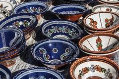 传统罗马尼亚陶瓷2 免版税图库摄影