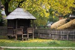 传统罗马尼亚围场 库存照片