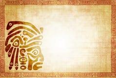 传统美洲印第安人的模式 免版税库存图片