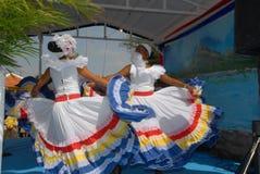 传统舞蹈博内尔岛 免版税库存照片