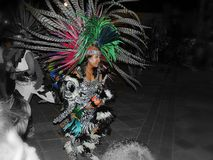 传统舞蹈 库存照片