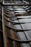 传统芬兰教会小船 库存图片