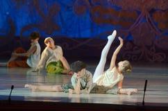 传说芭蕾 库存照片