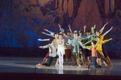 传说芭蕾 免版税库存照片