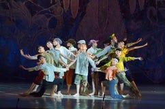 传说芭蕾 免版税库存图片