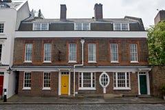 传统英国房子,伦敦,英国,英国 库存图片