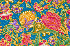 传统蜡染布布裙样式 图库摄影