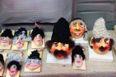 传统装饰工艺小雕象 库存照片