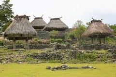 传统议院东帝汶 免版税图库摄影