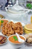 传统赖买丹月膳食 库存照片