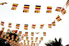 传统越南旗子 免版税库存照片