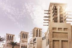 传统阿拉伯大厦 免版税库存图片