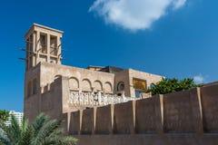 传统阿拉伯的房子 免版税库存图片