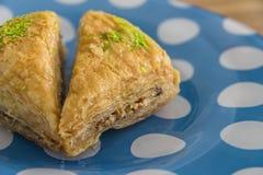传统阿拉伯/土耳其甜点 免版税库存图片
