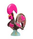 传统陶瓷雄鸡 库存图片