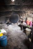 传统非洲厨房 免版税图库摄影