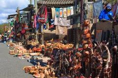 传统非洲市场 免版税图库摄影