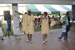 传统非洲的礼服 免版税库存照片