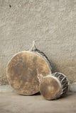 传统非洲的鼓 库存照片