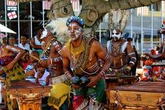 传统非洲音乐 图库摄影