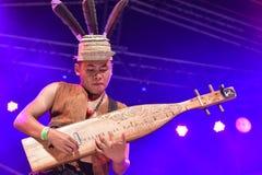 传统音乐Sape 库存照片