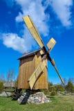 传统风车 库存照片