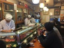 传统食品批发市场在东京 库存照片