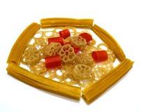 传统食物或nimki 免版税库存图片