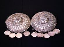 传统马其顿皮带扣装饰 免版税图库摄影