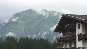 传统高山美丽如画的风景 股票视频