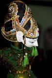 传统assian木偶 库存照片