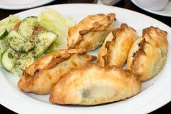 传统Karaite肉馅饼(Kibin) 库存图片