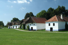 传统Moravian葡萄酒库 免版税库存照片