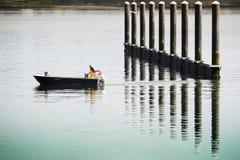 传统rawboat 免版税库存图片