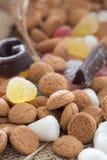 传统Sinterklaas糖果 免版税图库摄影