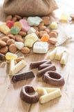 传统Sinterklaas糖果 库存照片