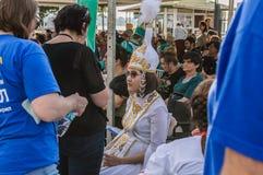 伤残了悟星期艺术和民间传说事件的-土耳其美丽的民间舞蹈 库存照片