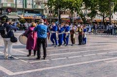 伤残了悟星期艺术和民间舞事件-土耳其 免版税图库摄影