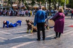 伤残了悟星期艺术和民间舞事件-土耳其 免版税库存图片